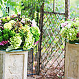 Altar Florals at Pilot Peak Winery