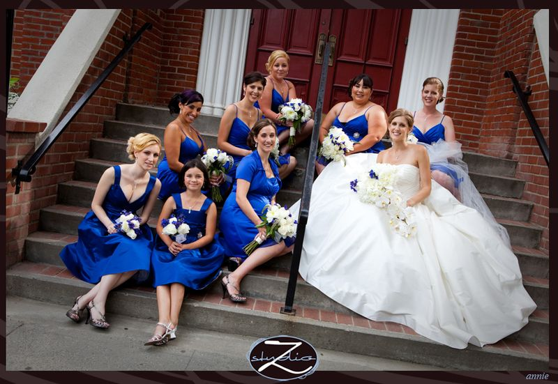 Blue And Black Wedding Ideas