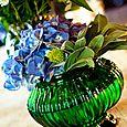 Vintage vase at Newcastle wedding gardens