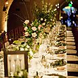 Calistoga Ranch Wedding Wine cave reception