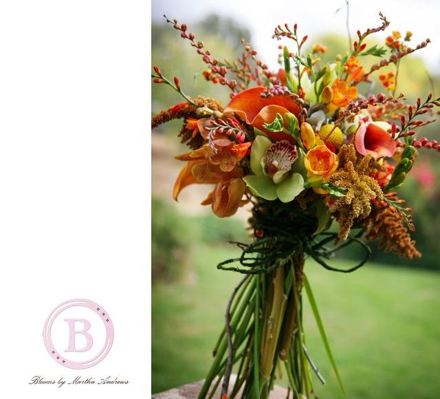 bridal flowers natural twig bridal bouquet