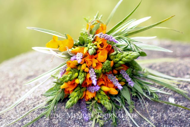 Herbal Bridal Bouquet