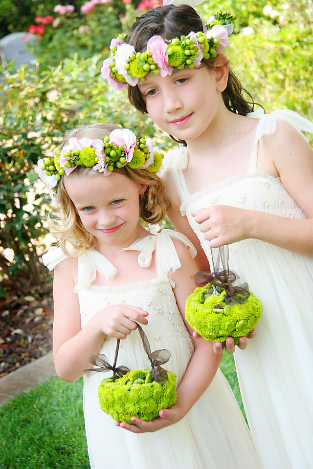 bridal flowers flower girls