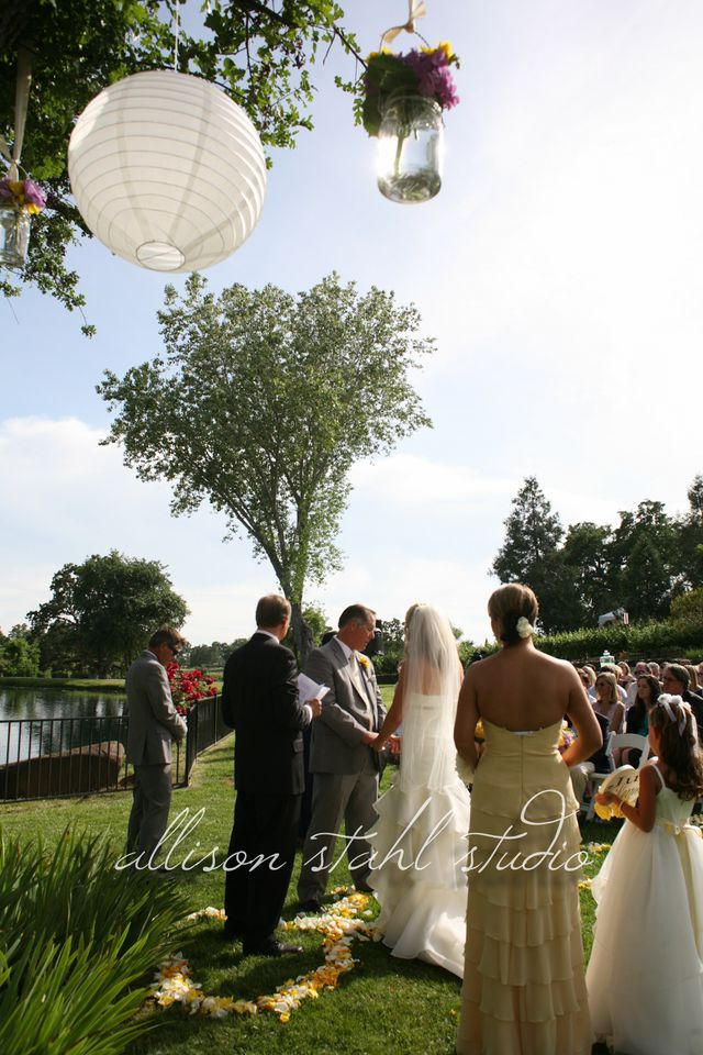 Ceremony at Youngs Winery Amador County