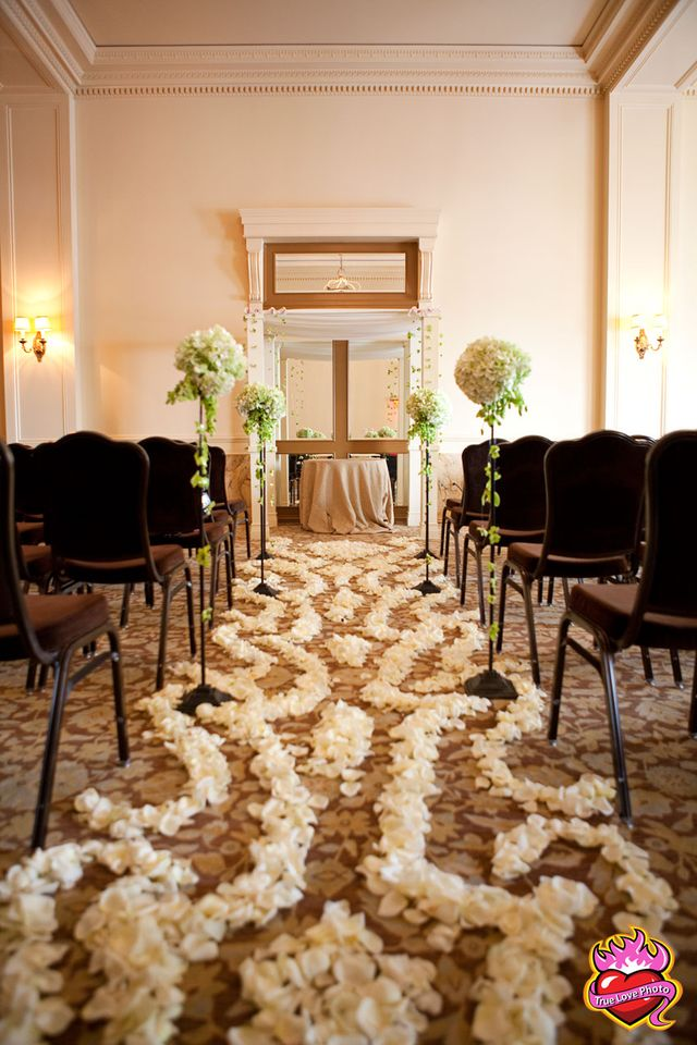 Petal Aisle done with flair