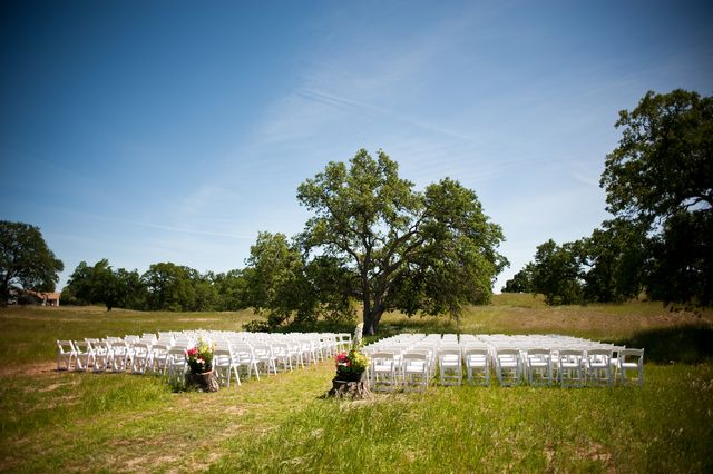 Ceremony in a pasture