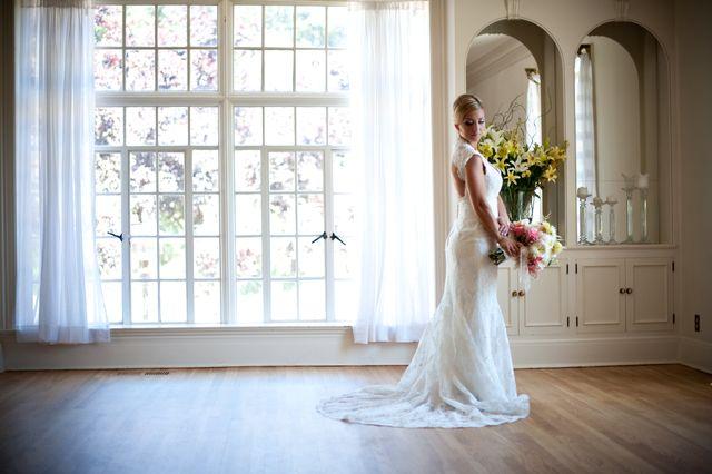 Lovely bride at Monte Verde Inn