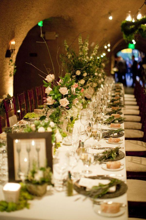 Calistoga Ranch Wedding Wine cave reception