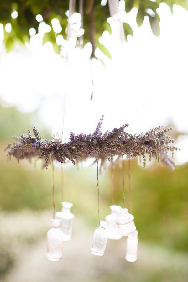 Lavender chandelier