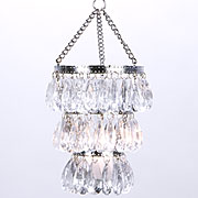 Hanging candle chandeliers