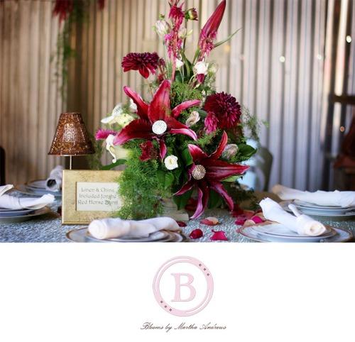 9d Elegant table arrangement.