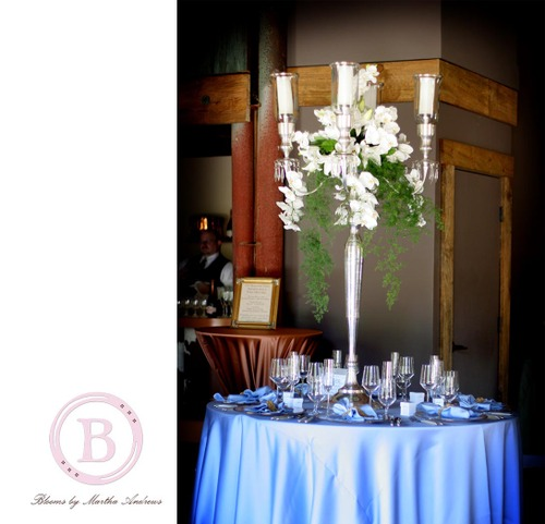 6b Winter silver candleabra
